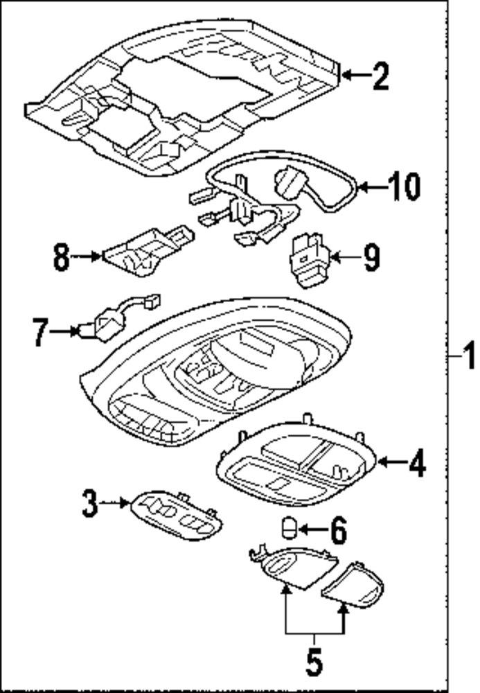 2004 Trailblazer Sunroof Parts