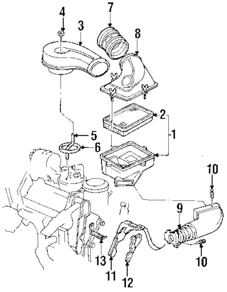 Engine Parts For Cadillac