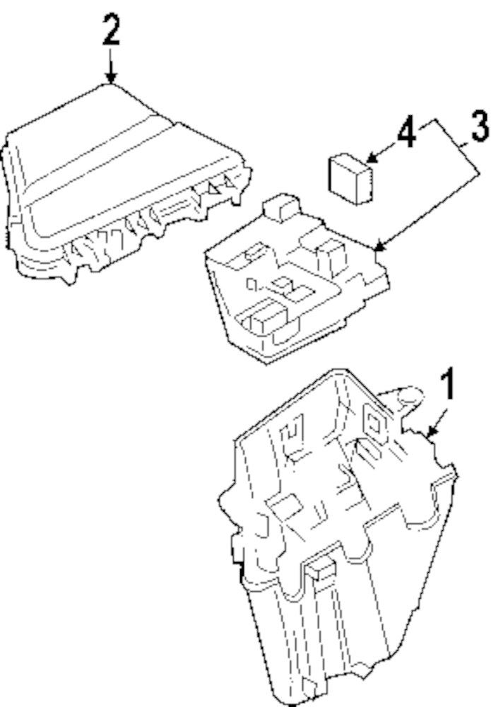 Genuine Cadillac Fuse Cad 88909754: 2003 Cadillac Cts Wiring Schematics At Teydeco.co