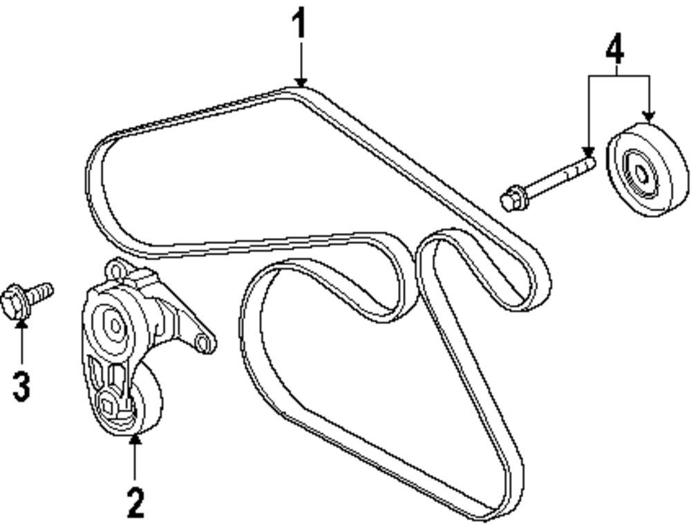 mopar direct parts dodge chrysler jeep ram wholesale retail parts Scag Belt Diagram genuine cadillac belt tensioner bolt cad 11519173