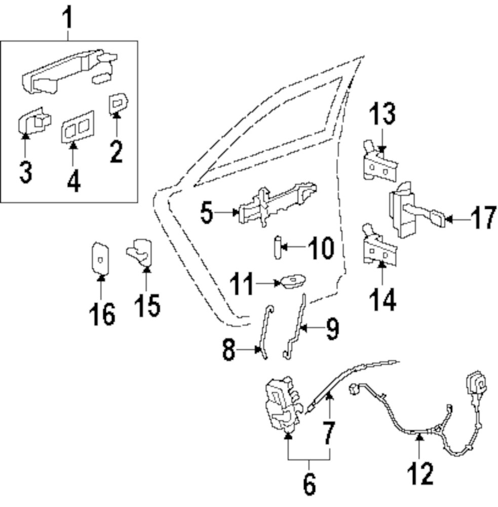 2012 Cadillac Cts Rear Door Parts This Is Not A Real Site 100628 Wiring Harness Genuine Wire Cad 20980877