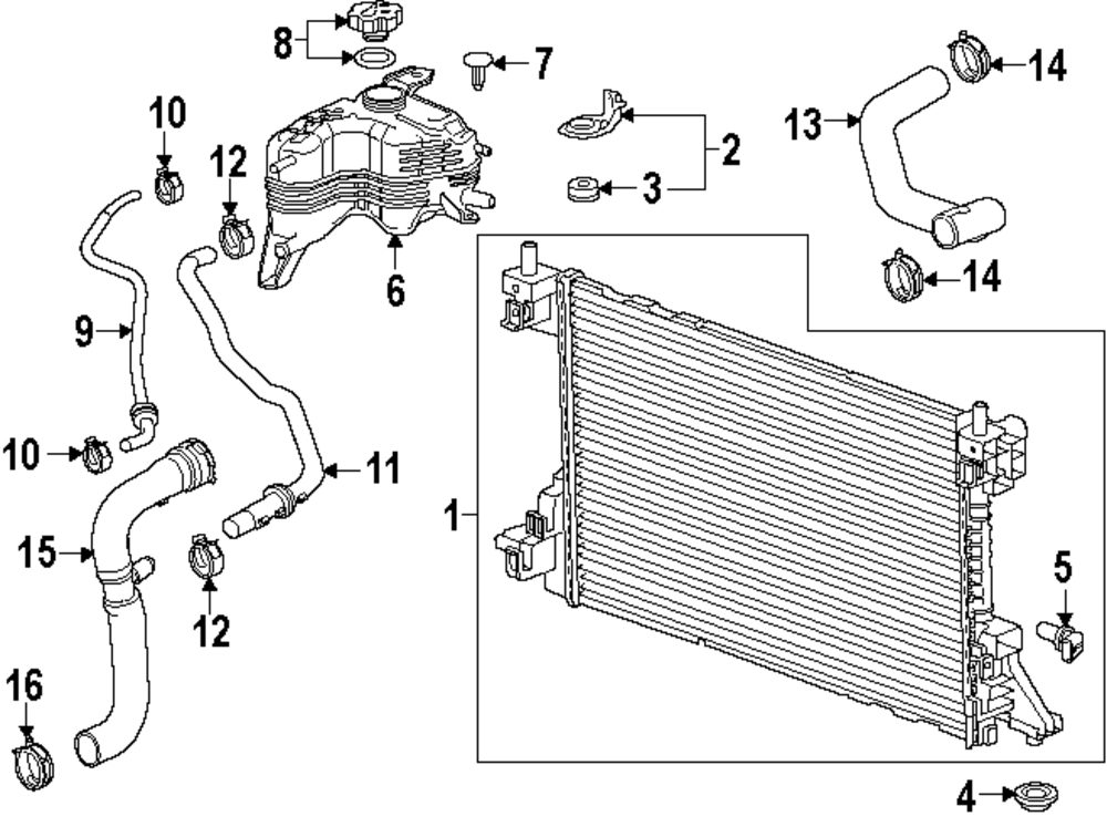 Pretty Radiator System Diagram Pictures Inspiration - Everything You ...