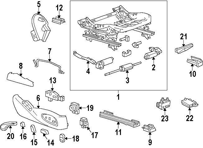 2004 Chevy Trailblazer Sway Bar Parts Diagram