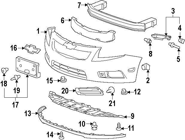 chevy cruze parts diagram