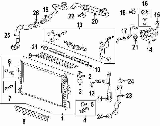 2011 Chevrolet Cruze Water Outlet Diagram on 2005 chevy cavalier engine diagram
