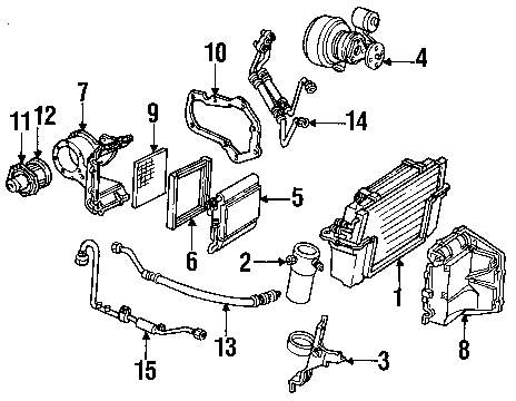 2005 chevy express parts diagram  wiring  auto wiring diagram