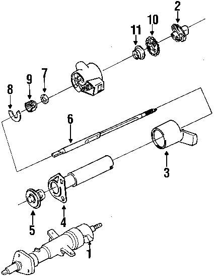 browse a sub category to buy parts from this is not a real site International Scout Steering Column Diagram genuine chevrolet column assy che 26026209