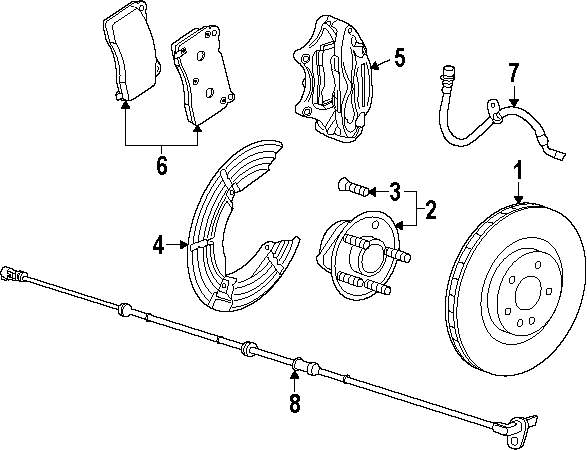 2014 Ford Transit Connect Brake Components Parts