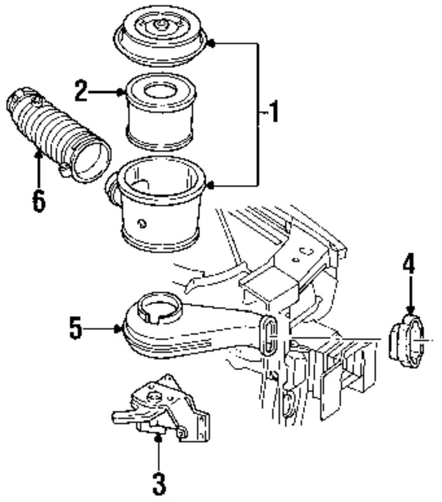 Pontiac Vibe Engine Diagram Intake Wiring Library Genuine Oldsmobile Inlet Duct Bracket Old 14087805