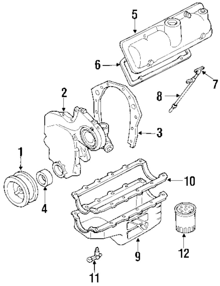 1997 Oldsmobile Cutlass Supreme Engine And Transaxle Parts