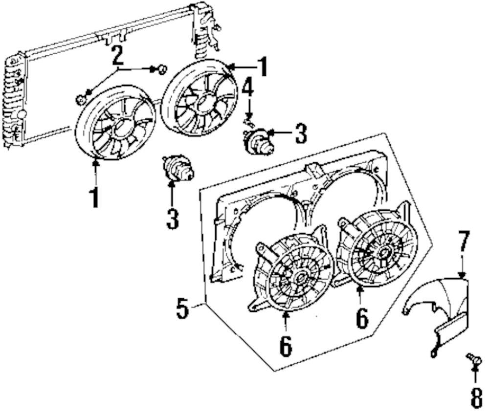Mopar Direct Parts Dodge Chrysler Jeep Ram Wholesale Retail Silohette Olds 3 1 Engine Diagram Genuine Oldsmobile Fan Motor Bolt Old 22062547