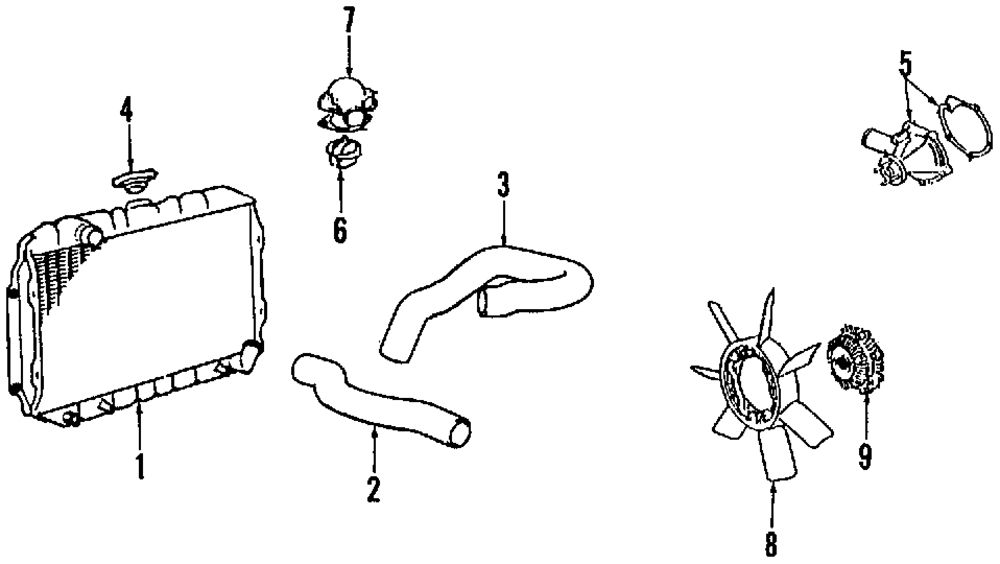 1991 toyota land cruiser fuse box diagram
