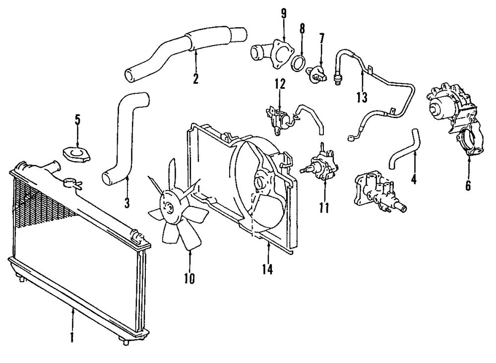 34 2000 Lexus Rx300 Exhaust System Diagram