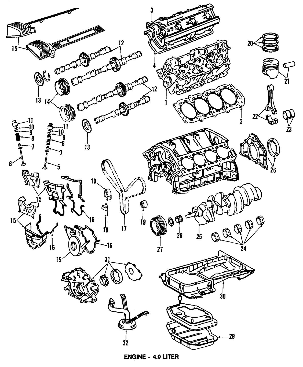 2003 lexus ls430 engine diagram  lexus  auto parts catalog