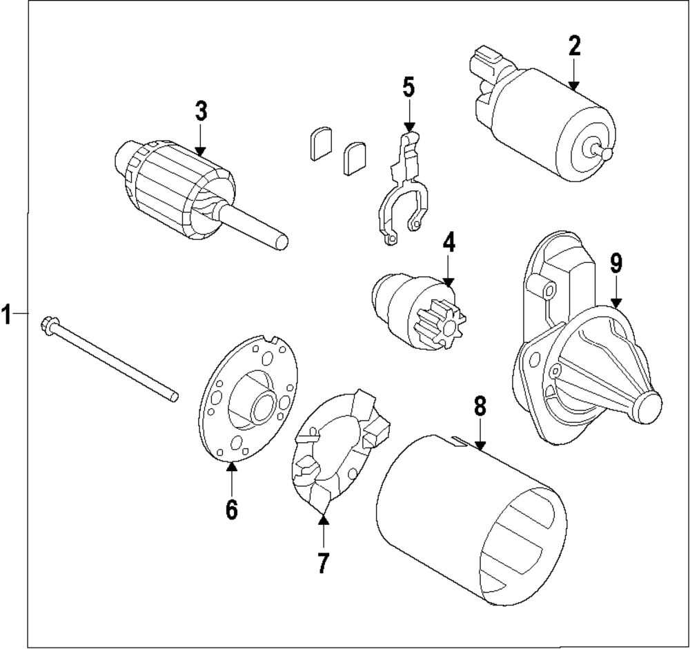 Browse A Sub Category To Buy Parts From Hyundai Clutch Diagram Genuine Drive Hyu 361452b102