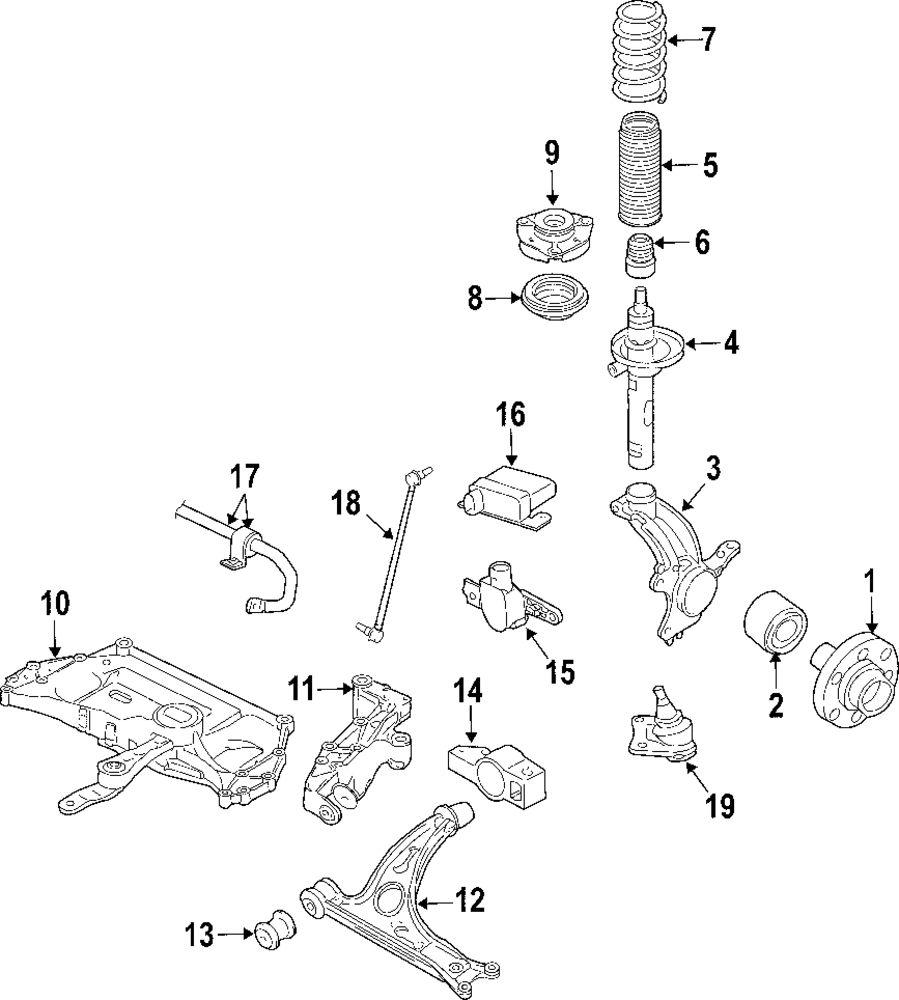 2009 Jeep Wrangler Suspension: 2009 JEEP WRANGLER Front Suspension Parts