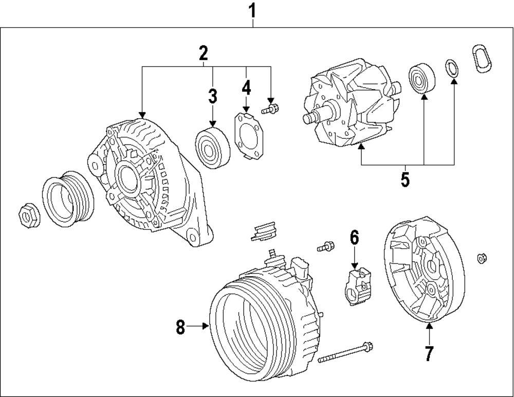 2006 lexus gs300 alternator diagram
