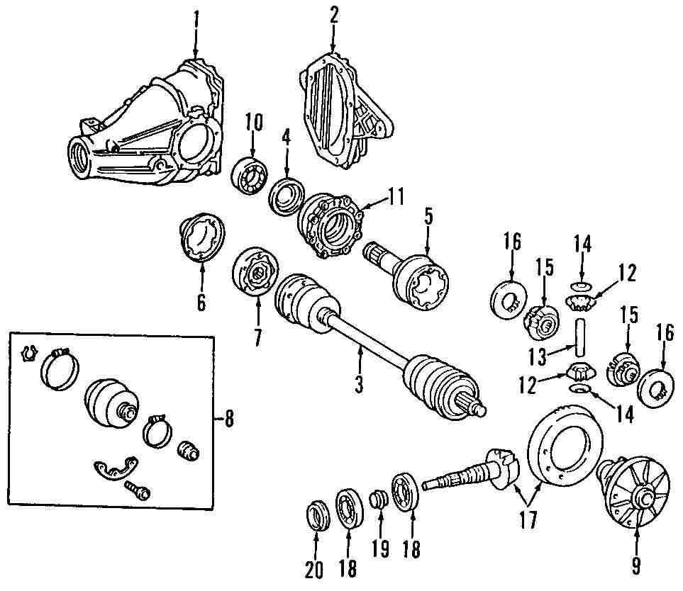 Mopar Direct Parts Dodge Chrysler Jeep Ram Wholesale Retail E420 Engine Diagram Genuine Mercedes Benz Axle Assy Mbz 1293506010