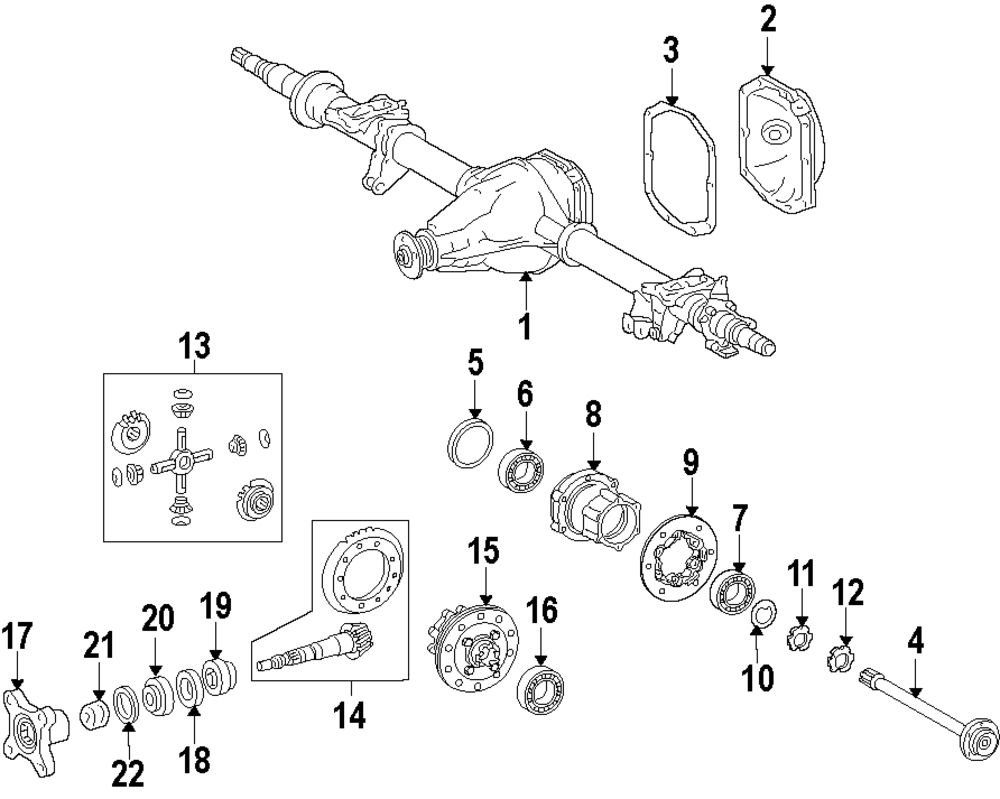 2012 Mercedes Benz Sprinter Diagram Wiring Data Schema Merecedes Fuel Filter 3500 Rear Axle Parts Mopardirectparts Rh Com 2013 2500