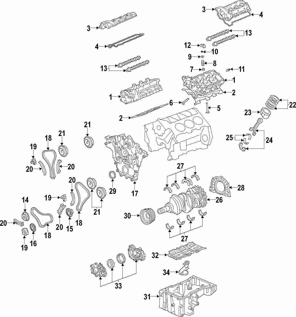 Mopar Direct Parts Dodge Chrysler Jeep Ram Wholesale Retail 2005 3 8 V6 Engine Diagram Genuine Saab Valve Cover Sab 12612437