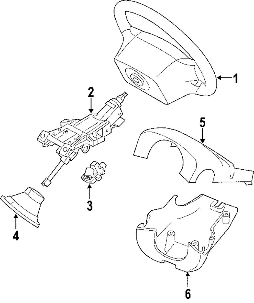 Mopar Direct Parts Dodge Chrysler Jeep Ram Wholesale Retail Volvo T5 Engine Diagram Genuine Lower Shroud Vol 30680133