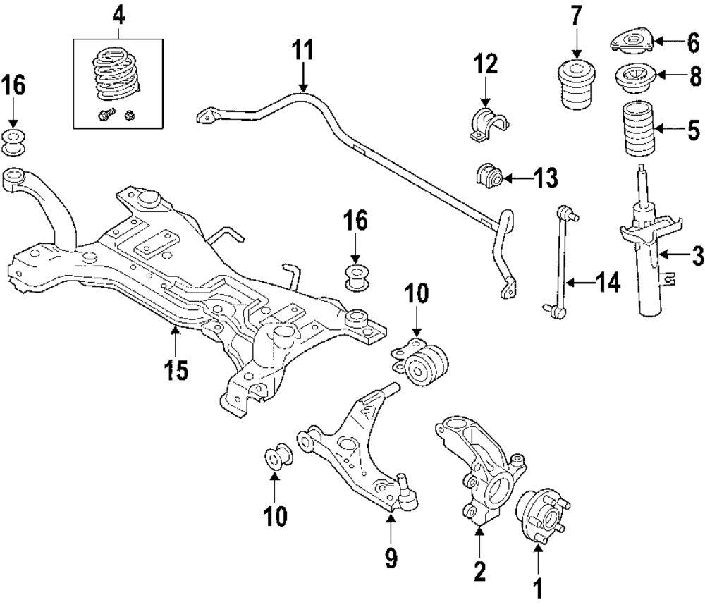 Mopar Direct Parts Dodge Chrysler Jeep Ram Wholesale Retail Suspension Diagram Genuine Volvo Engine Cradle Bushing Vol 30666040