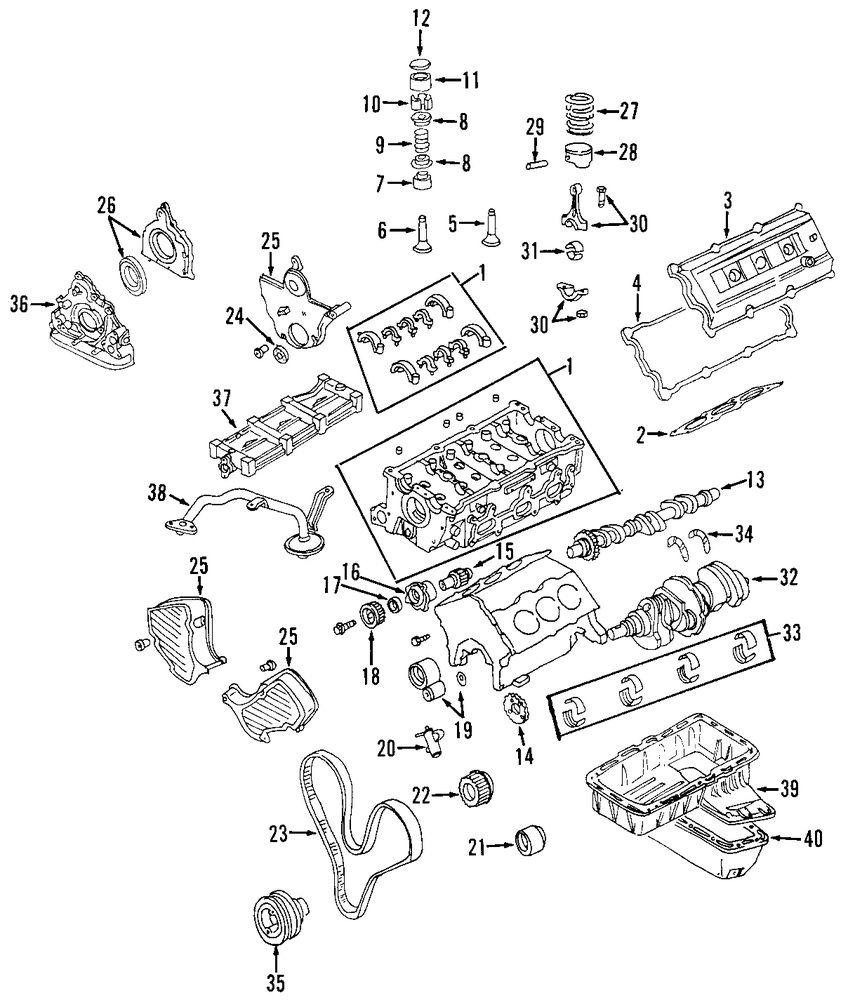 1999 isuzu amigo oil pump parts genuine isuzu housing isu 8971364640