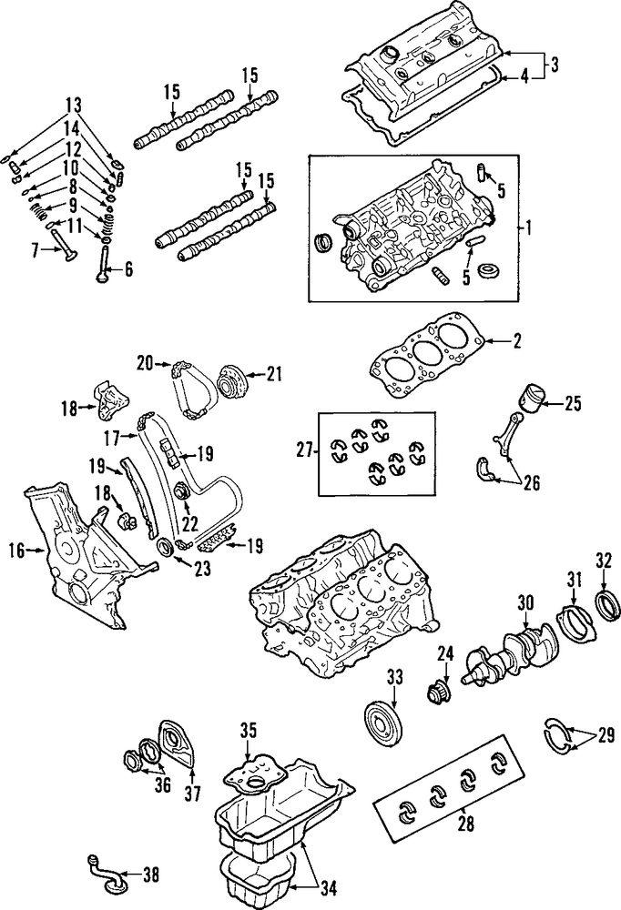 Toyota Avalon Engine Parts Diagram