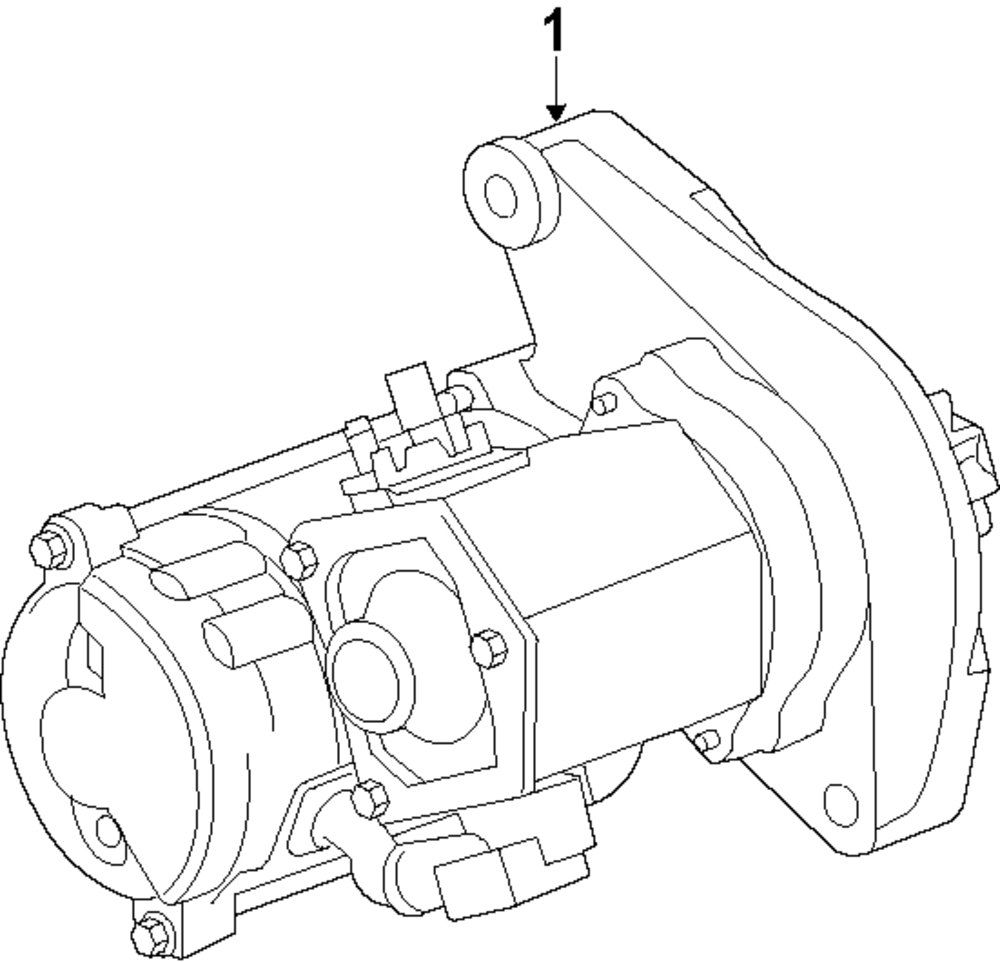 Mopar Direct Parts Dodge Chrysler Jeep Ram Wholesale Retail Lr3 Engine Diagram Starter