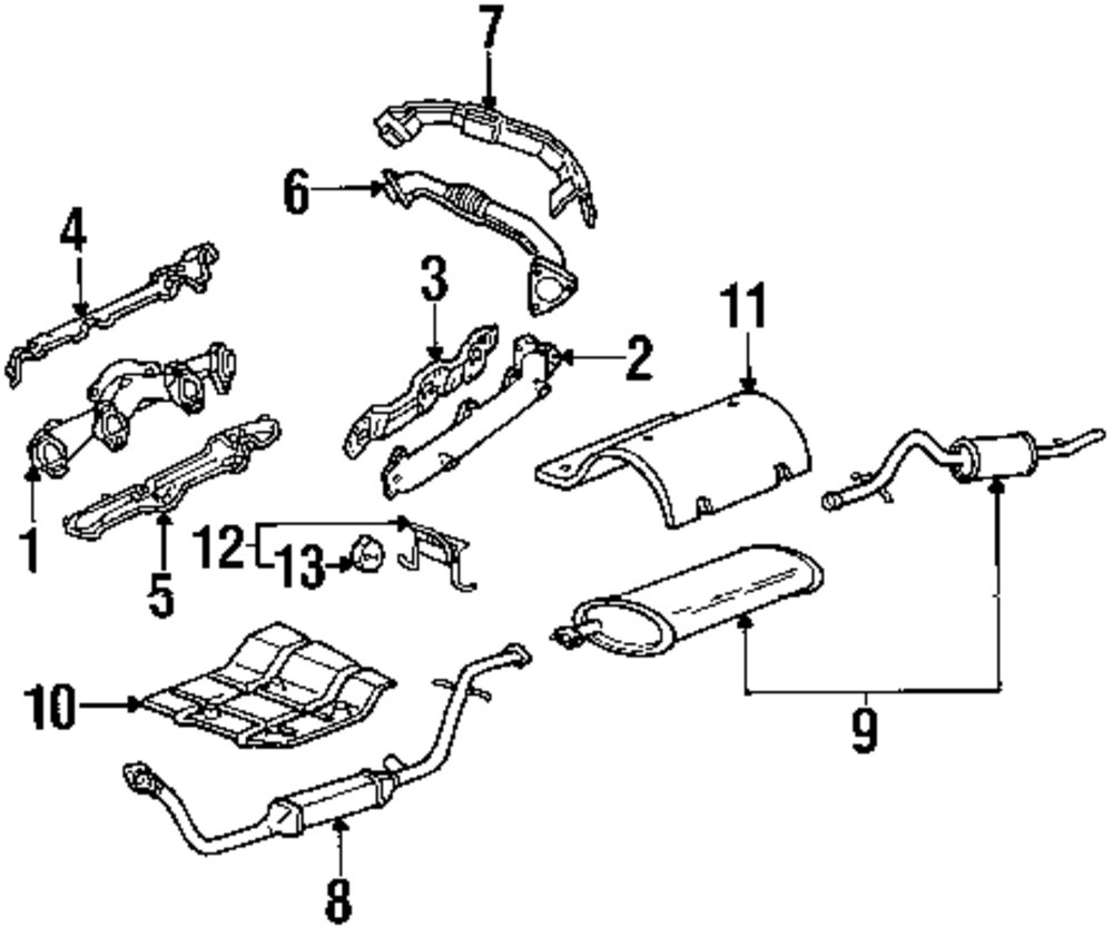 2003 pontiac montana engine diagram