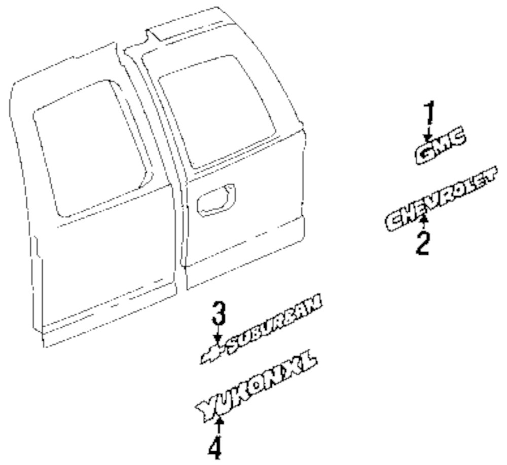 parts diagram for cadillac esv