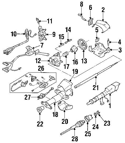 2000 S10 Front Suspension Diagram Trusted Wiring For Chevrolet S 10 1999 Light Switch U2022 Chevy Blazer End