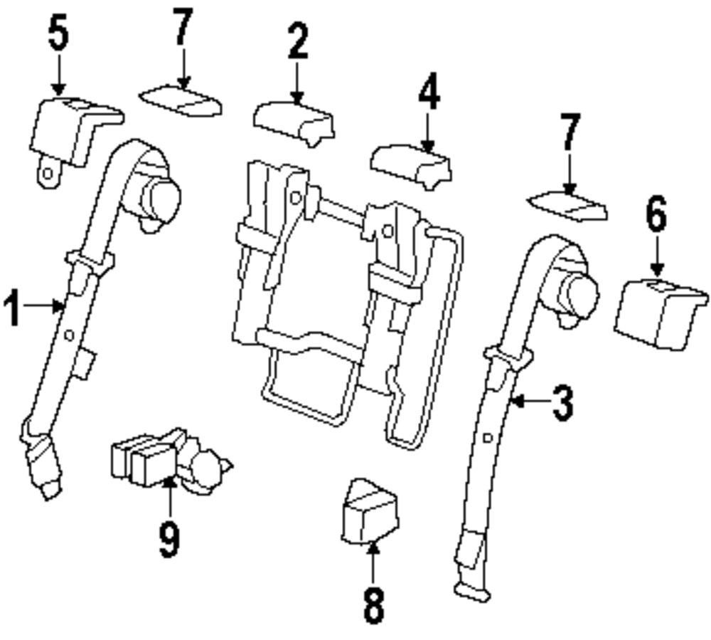2008 chrysler sebring parts catalog