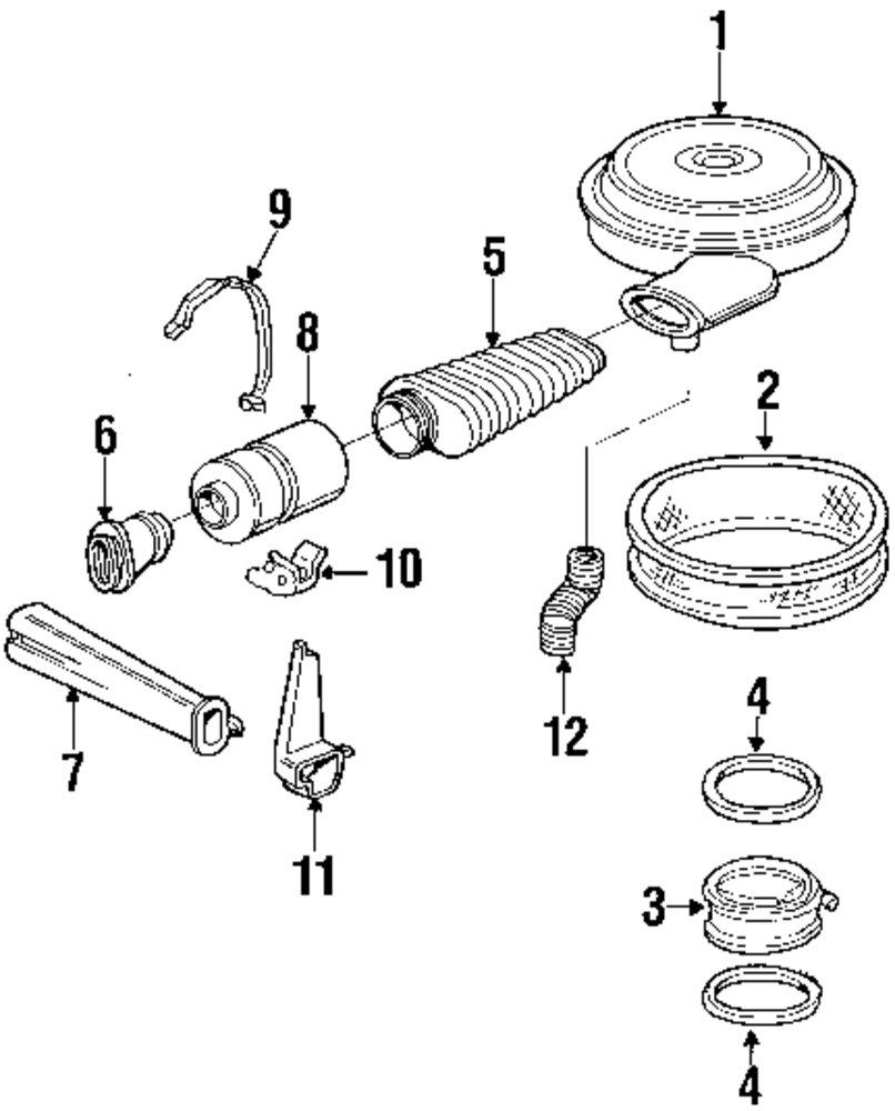 Genuine chevrolet resonator clamp che 15529821