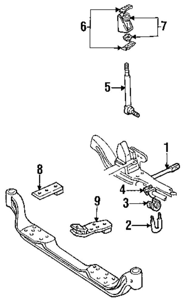 k1500 suspension diagram