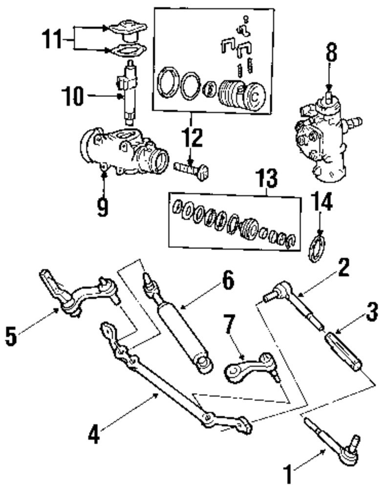 browse a sub category to buy parts from this is not a real site Icon Link Diagram genuine chevrolet center link che 26050592