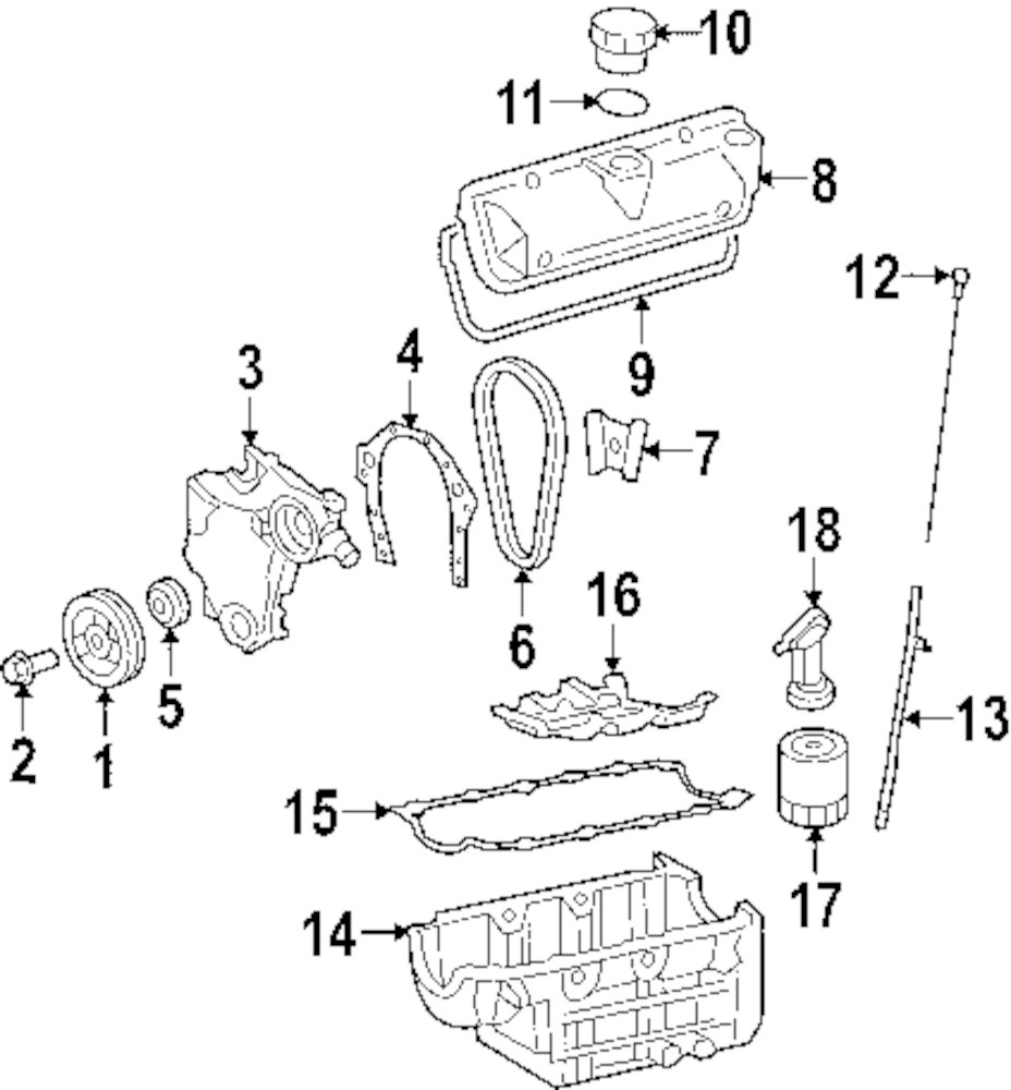 Browse A Sub Category To Buy Parts From 1969 Corvette Wiring Diagram Exterior Front Cover Gasket