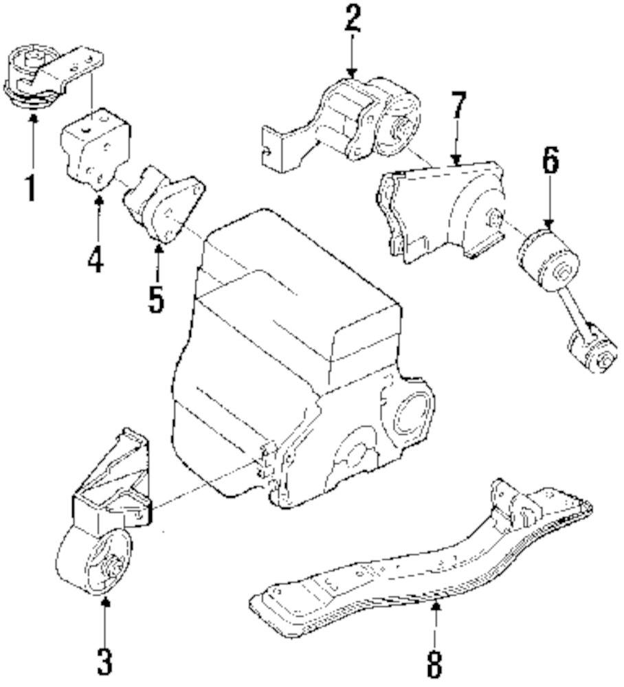 Mopar Direct Parts Dodge Chrysler Jeep Ram Wholesale Retail Geo Engine Diagram Genuine Strut 94170443
