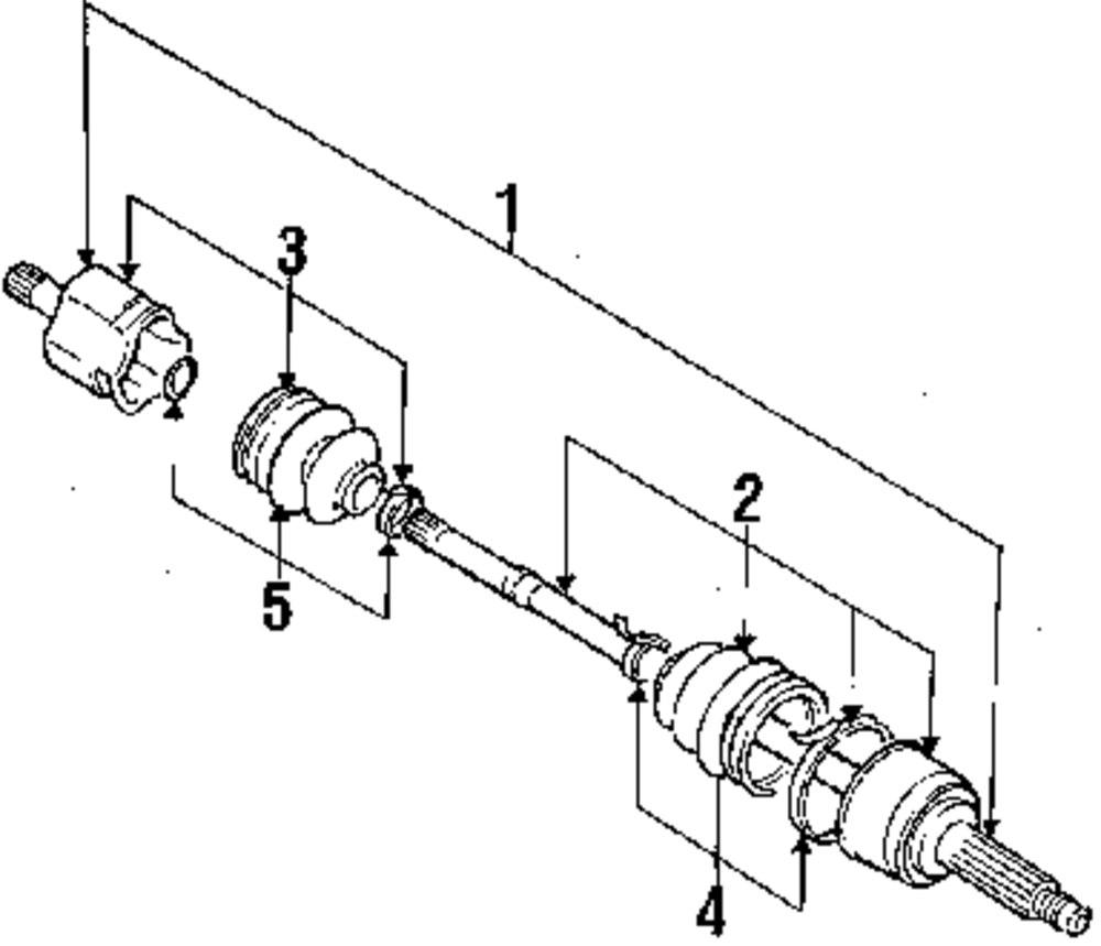 dodge dakota front differential diagram