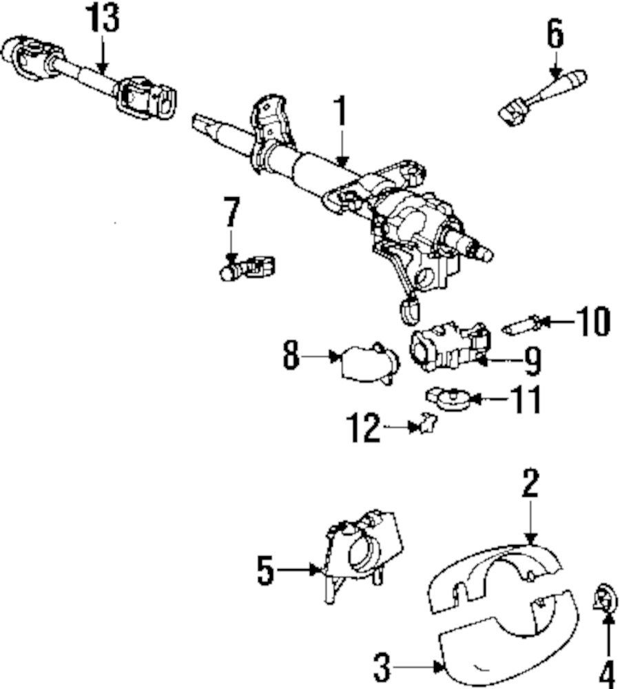 2000 Saturn Ls2 Steering Column Parts This Is Not A Real Site Ignition Diagram Genuine Shroud Bezel Sat 90584050