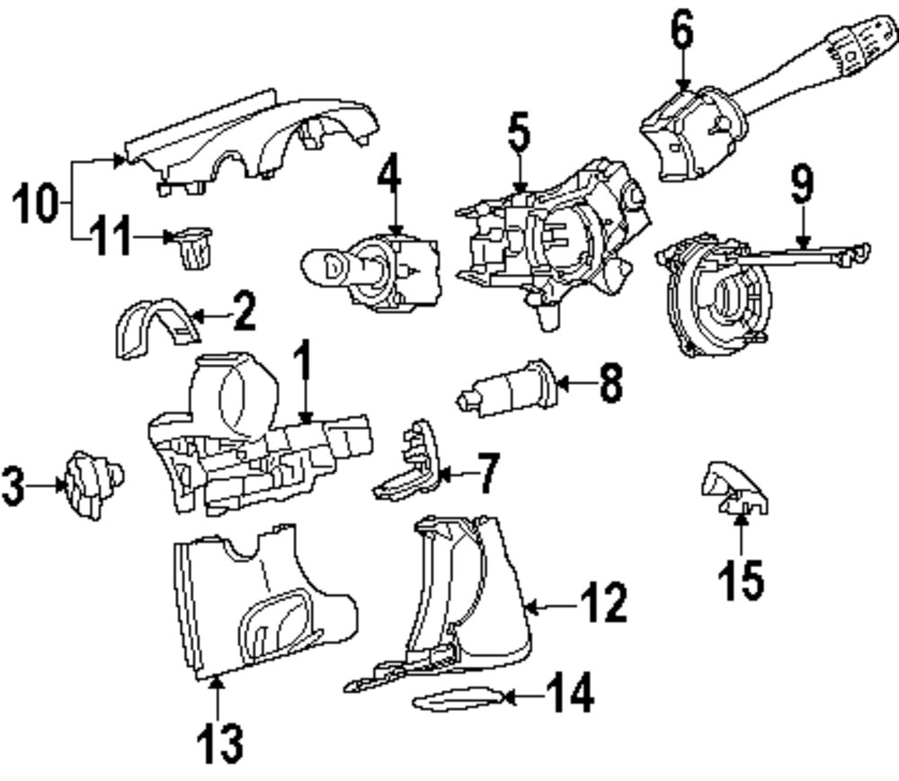Browse A Sub Category To Buy Parts From This Is Not Real Site Saturn Ignition Diagram Genuine Switch Sat 23228993