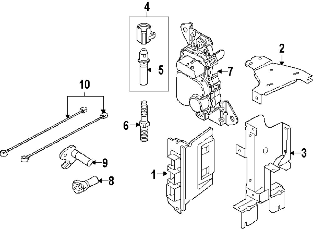 2005 Chrysler 300 Knock Sensor