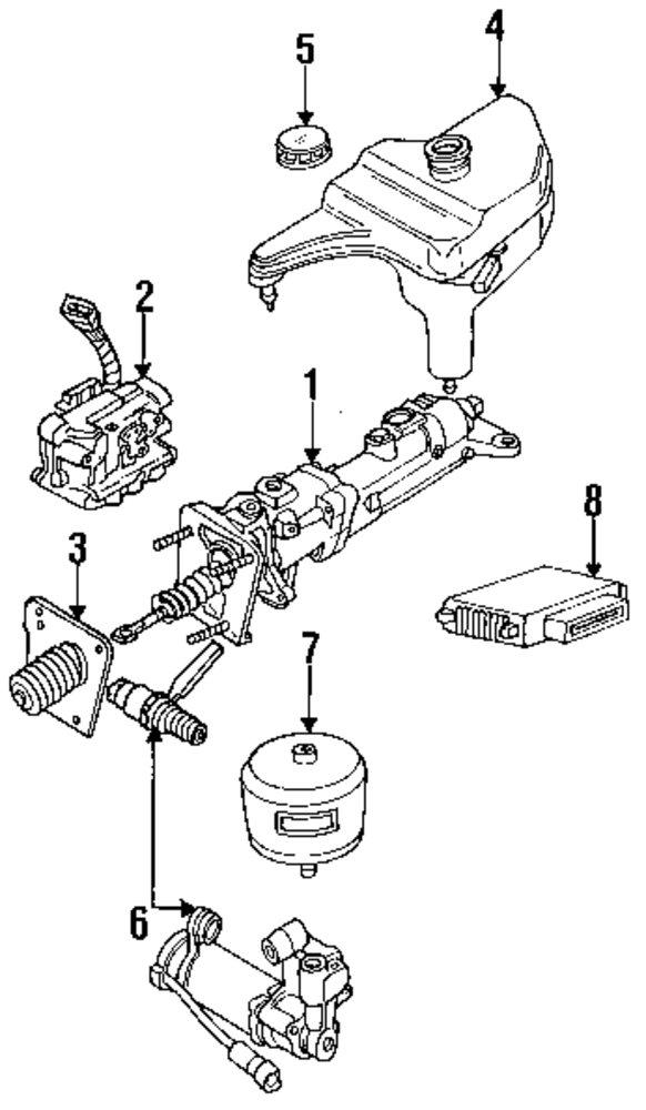 Genuine Ford Reservoir For E9sz2c246a: Ford E 150 Parts Diagrams At Sergidarder.com