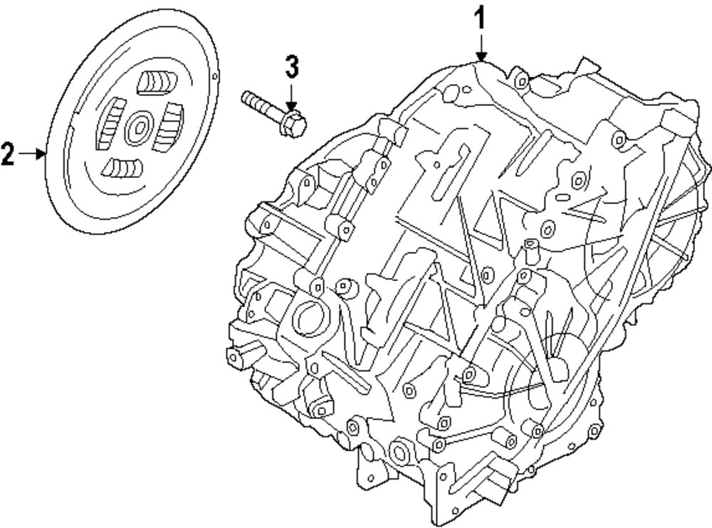 Ford Transaxle Diagram