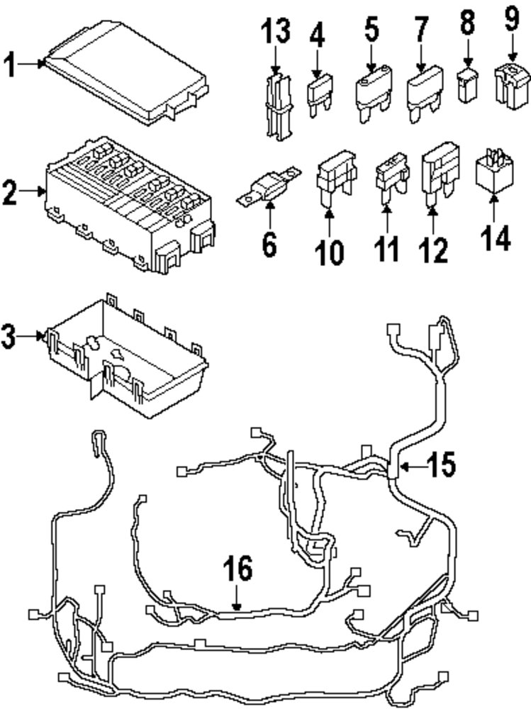 2001 explorer sport trac fuse panel diagram
