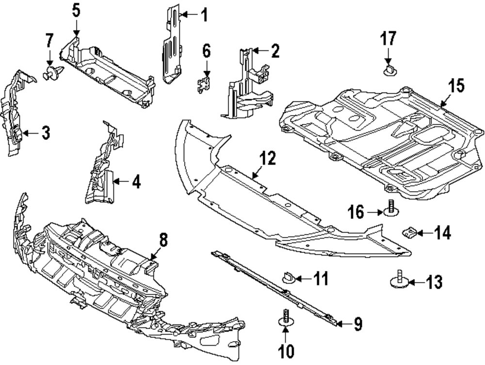 2012 Ford Focus Parts Diagram
