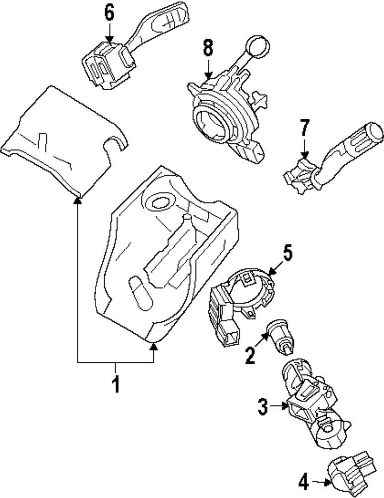 Ford Wiper Switch