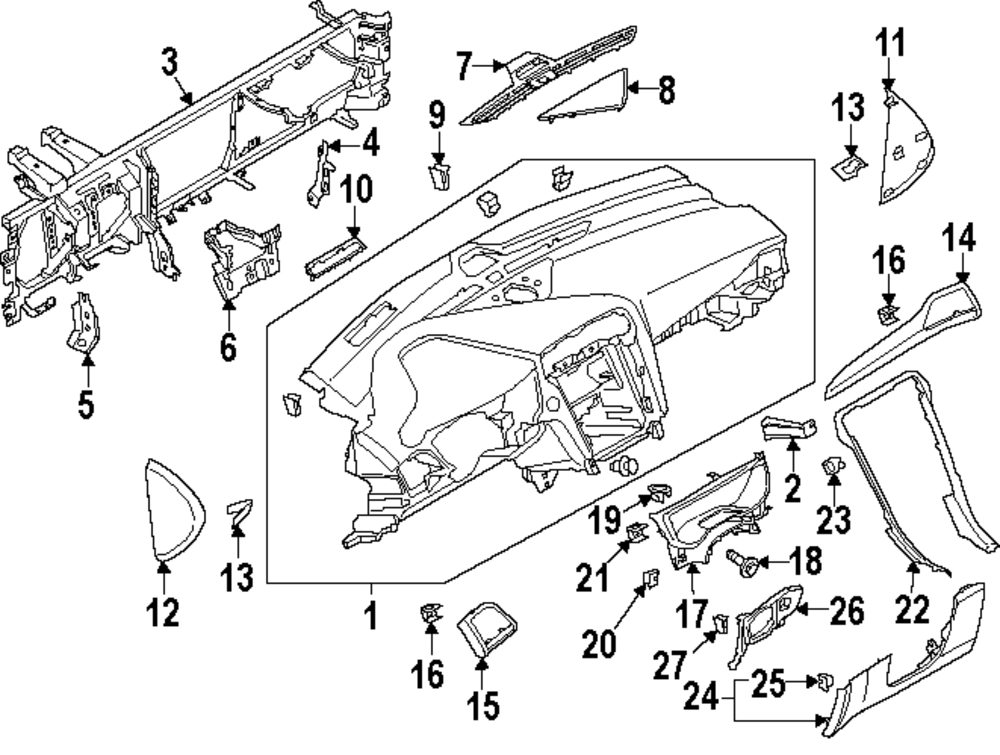 Ford Fusion Parts