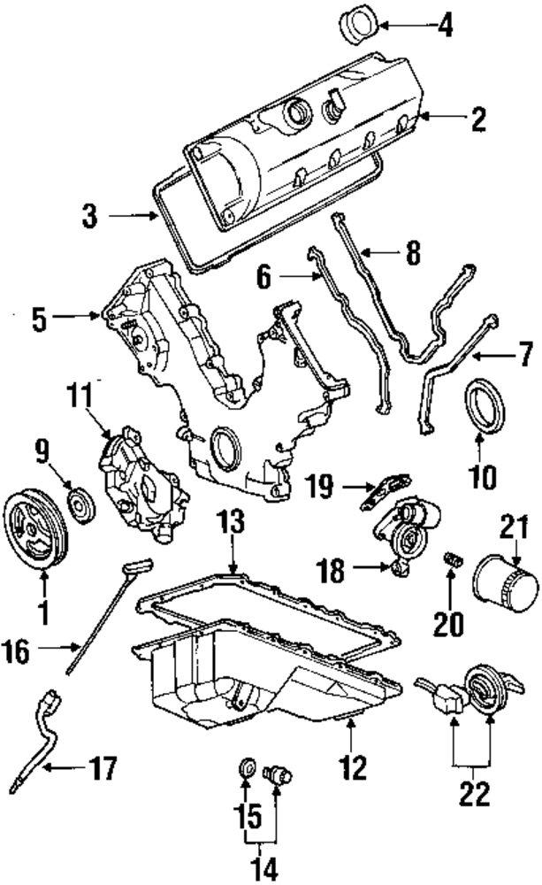 2002 Mercury Grand Marquis Engine Parts