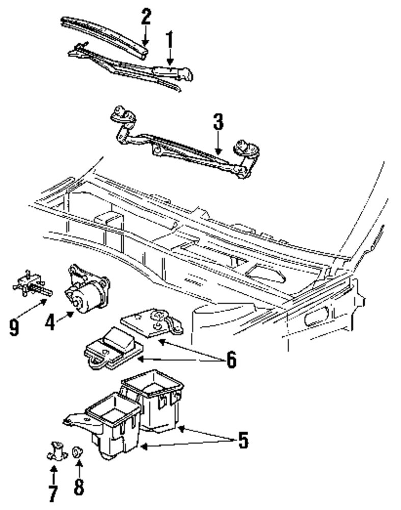 1992 Mercury Sable Parts Diagram Real Wiring 2000 Engine Buy Windshield For Vehicle Rh Mopardirectparts Com 2001 Service Manual